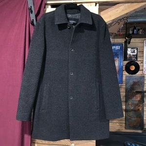 Banana Republic Wool Blend Peacoat Size Medium M